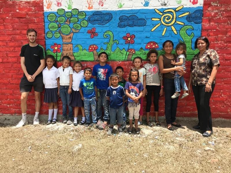 enseñanza a niños en honduras