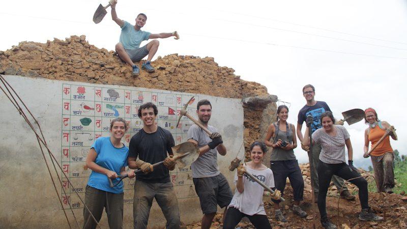 voluntariado en grupo