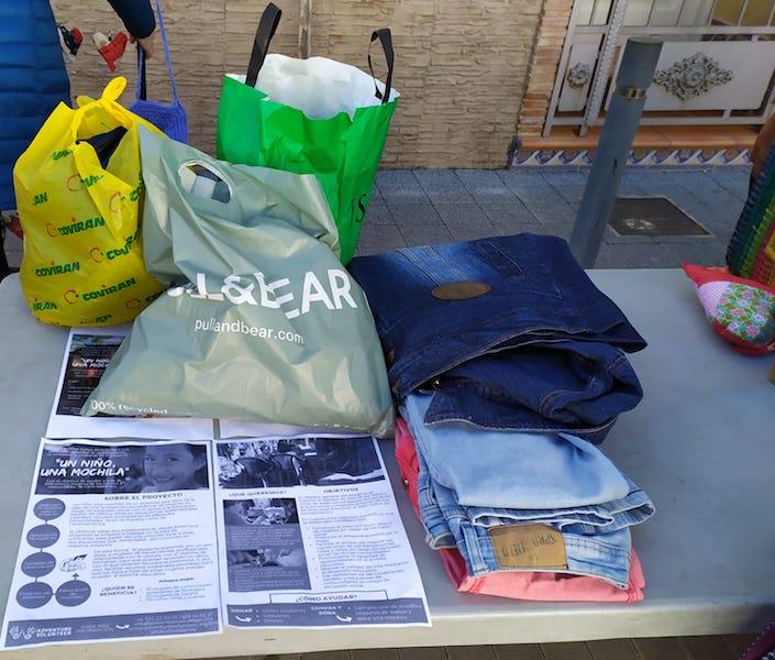 mochila adventure volunteer valencia