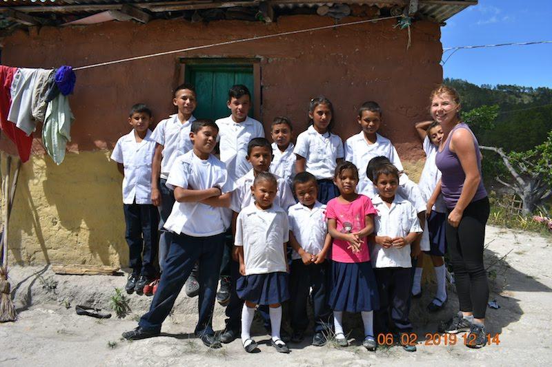 voluntariado apoyo escolar en honduras
