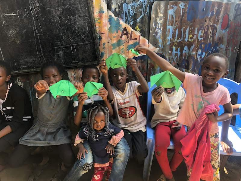 Sonrisas en Kenia