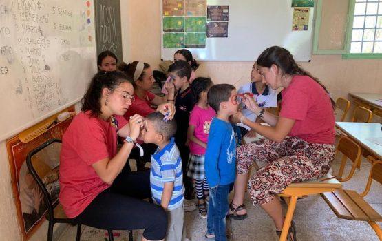 campamentos solidarios en marruecos