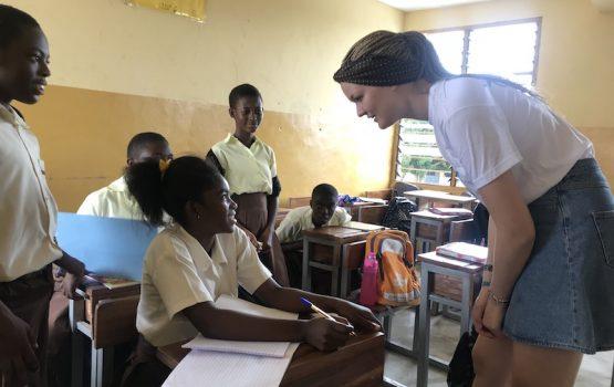 Proyecto escuela Ghana