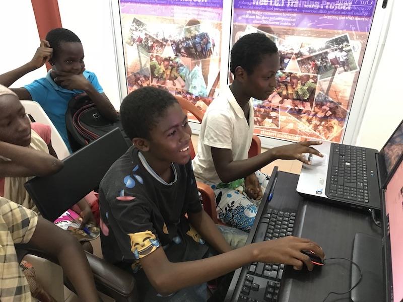 Voluntariado con niños