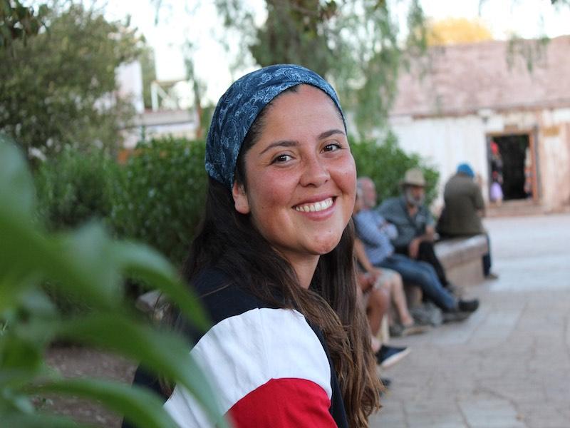 Catalina Martí coordinadora en Chile