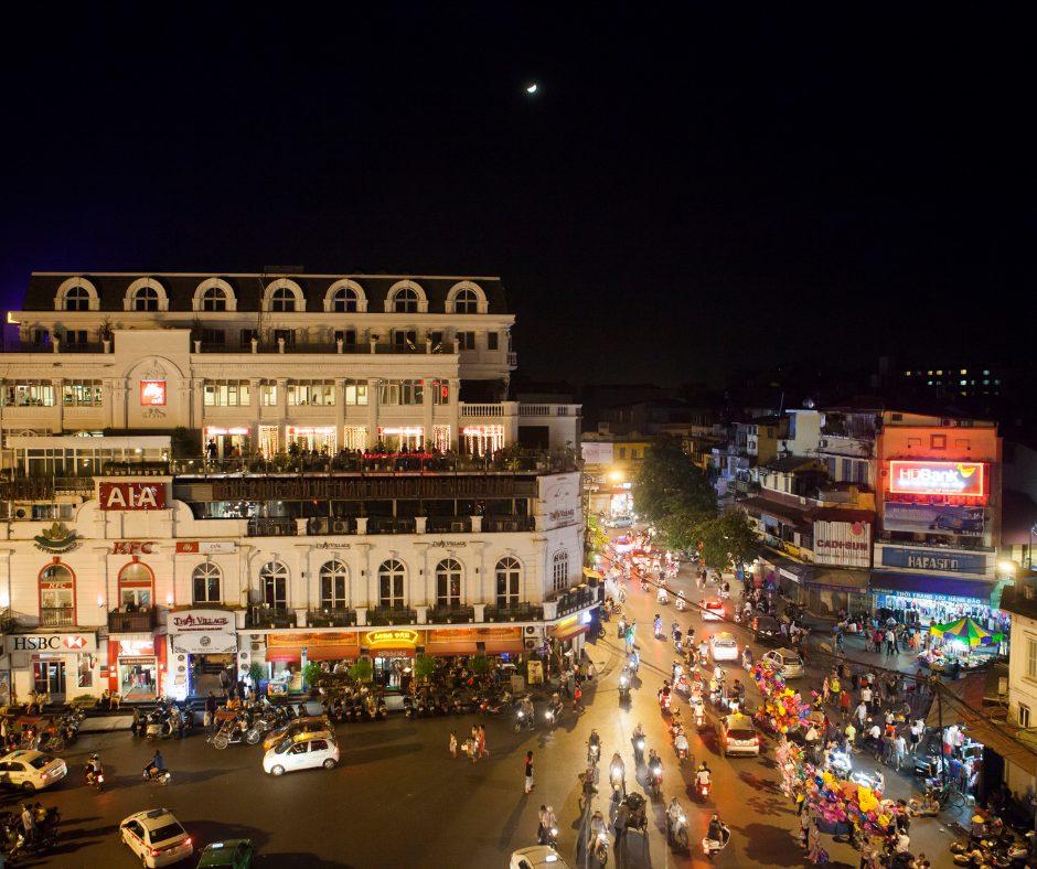 Ciudad de Hanói Vietnam