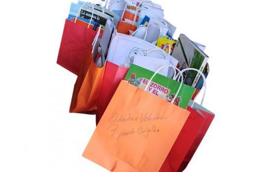 Donación de material escolar