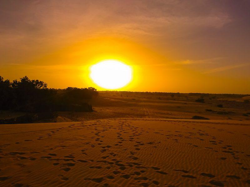 Senegal Desierto de Lompoul