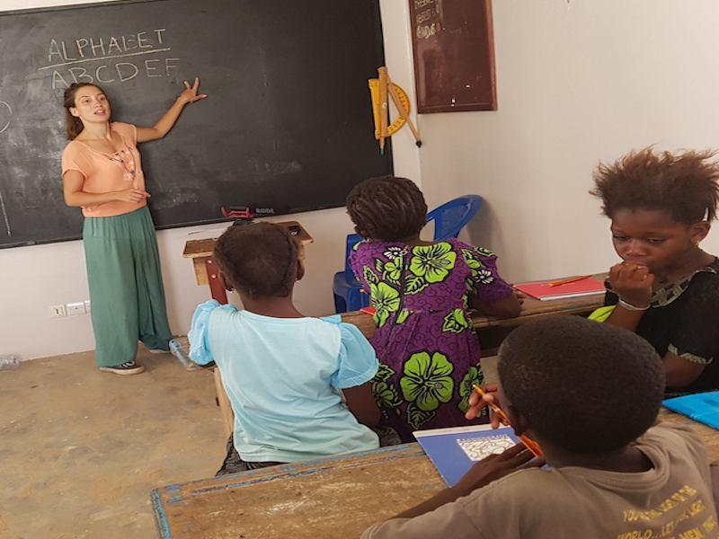 Voluntariado enseñanza en Senegal con Adventure Volunteer
