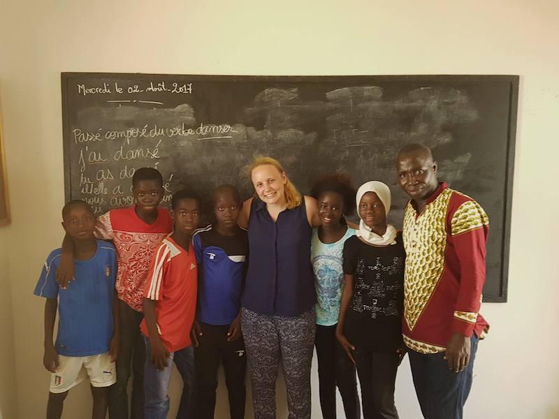 Volunteers travel Senegal